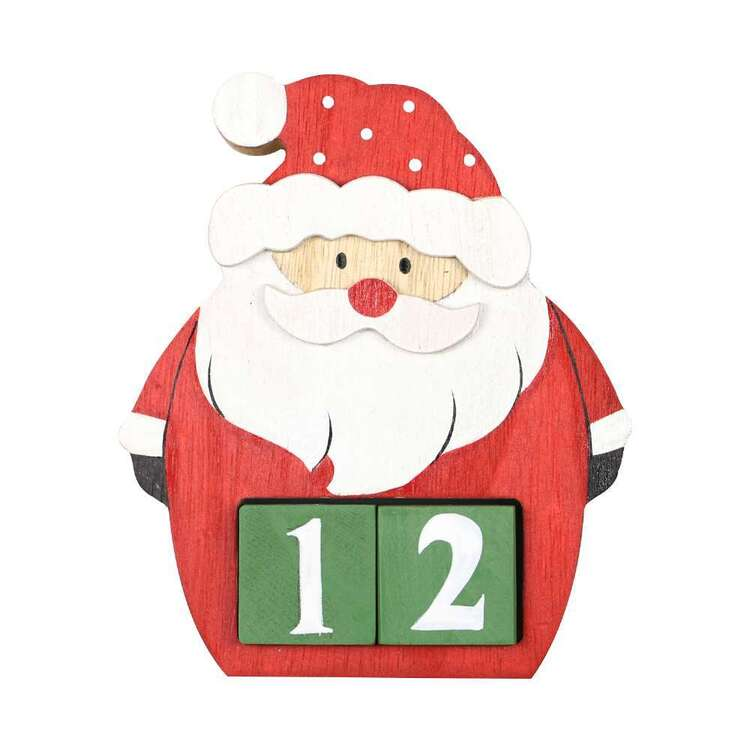 Jolly & Joy Santa Countdown Calendar