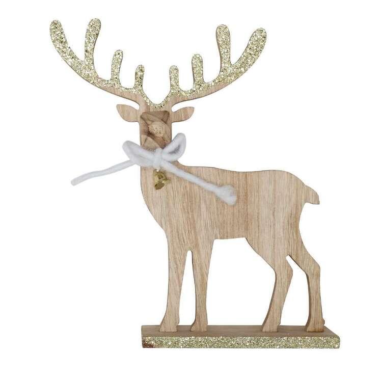 Jolly & Joy MDF Reindeer Decoration