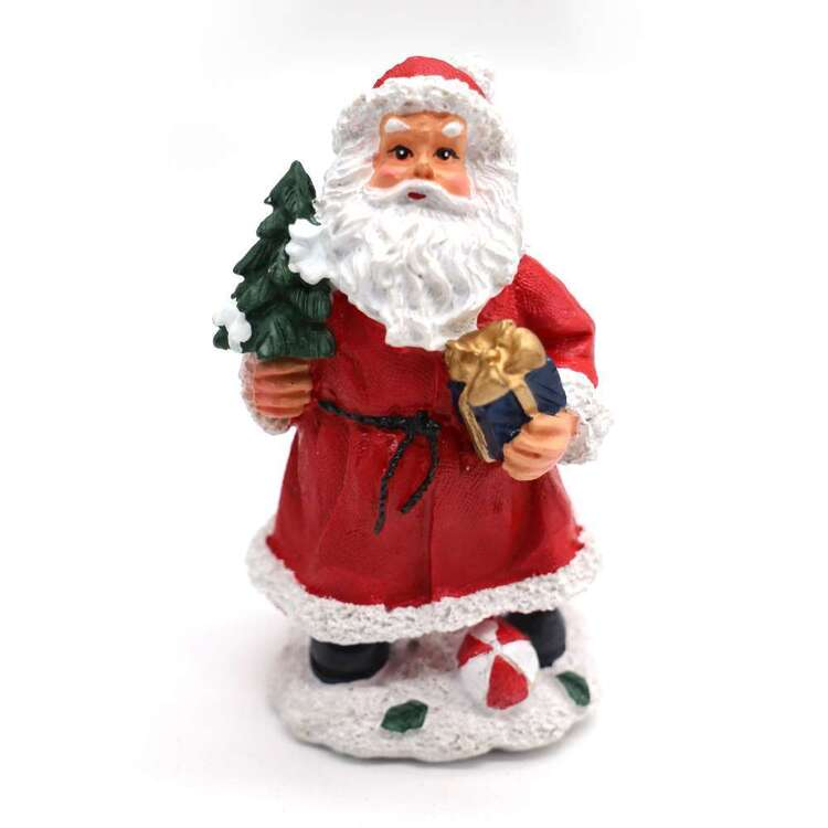 Jolly & Joy Polyresin Santa With Tree