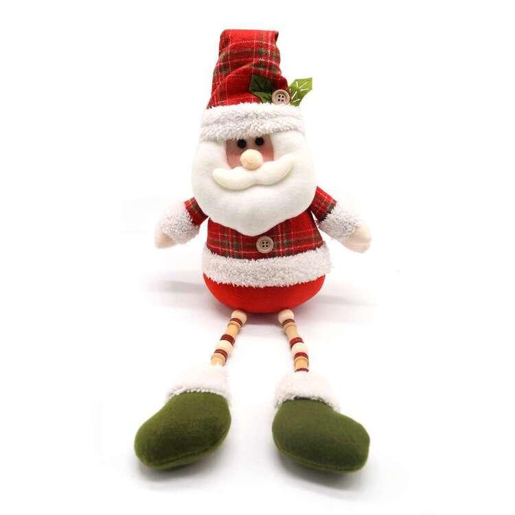 Jolly & Joy Sitting Santa
