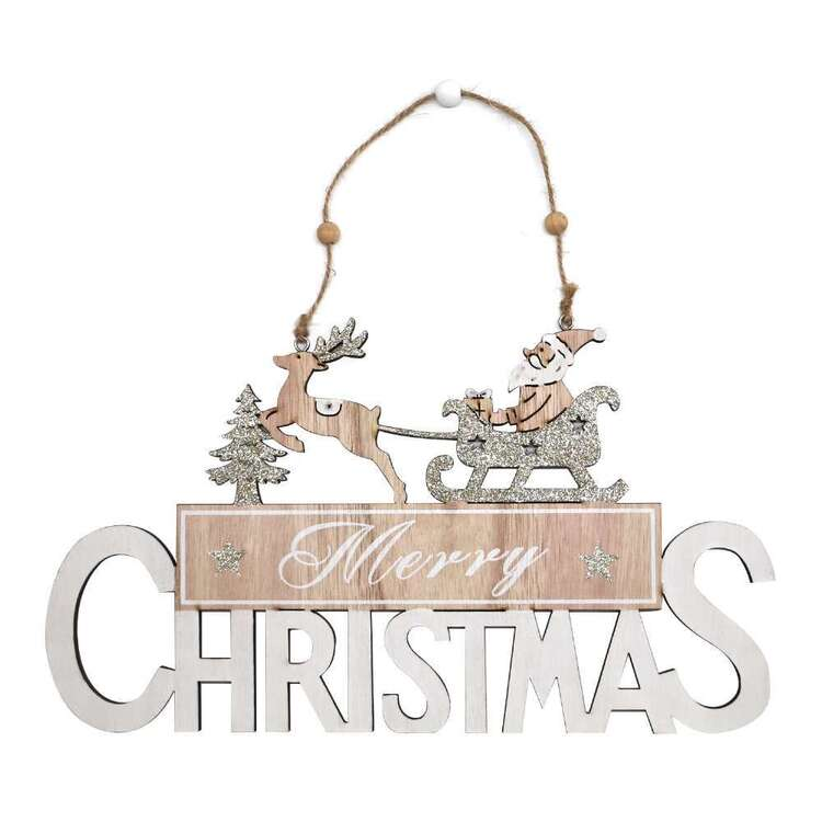 Jolly & Joy MDF Christmas Decoration