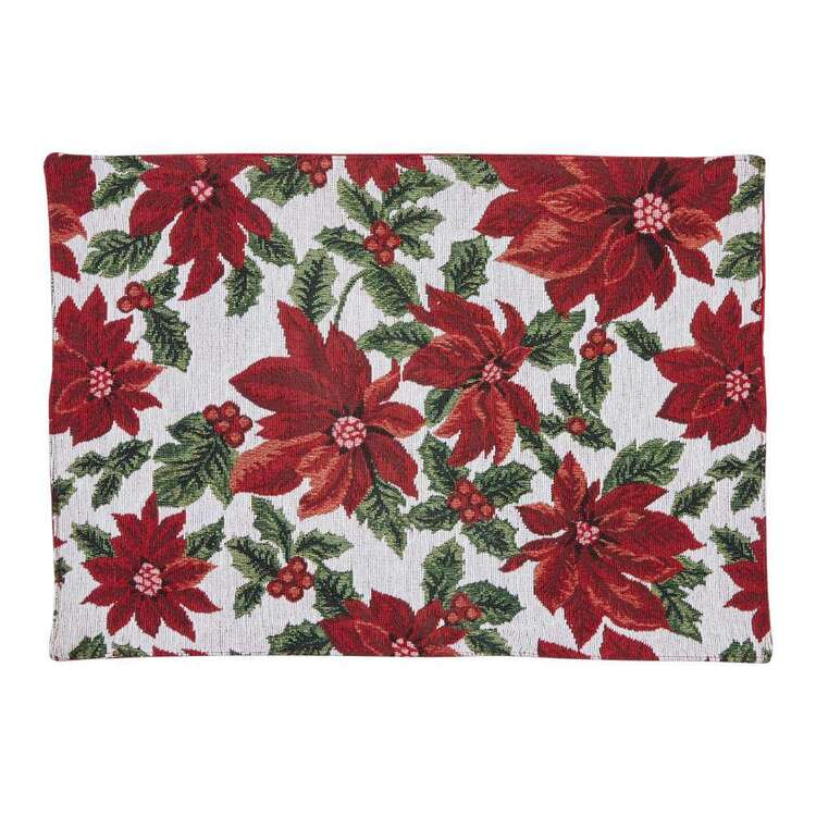 Living Space Festive Hopeful Tapestry Placemat