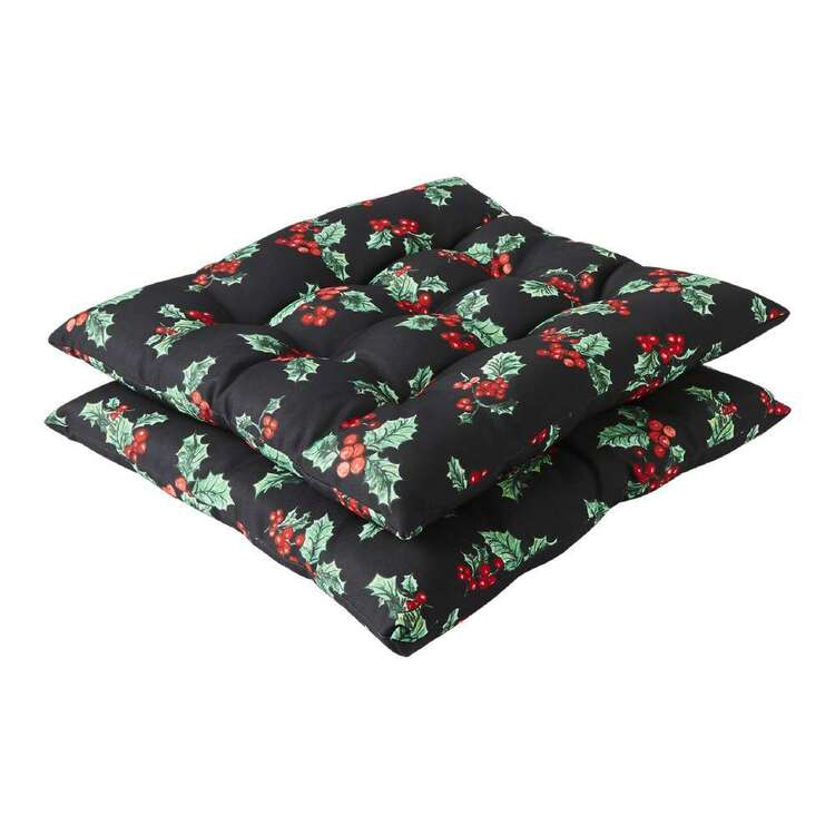Living Space Festive Jolly Printed 2 Pack Chair Pad