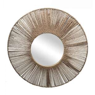 Living Space Tuscan Sun 60 cm Round Mirror