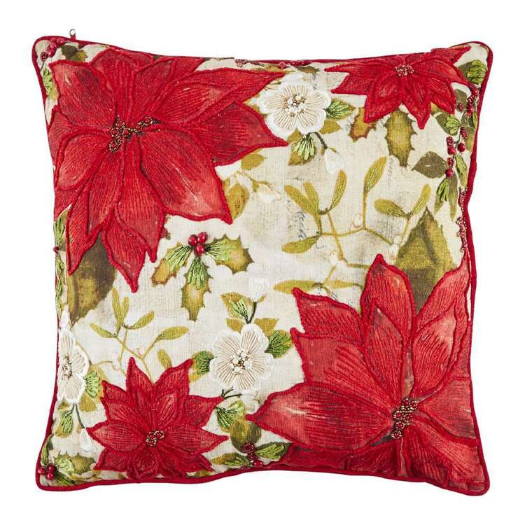 Living Space Festive Peace Tapstery Cushion
