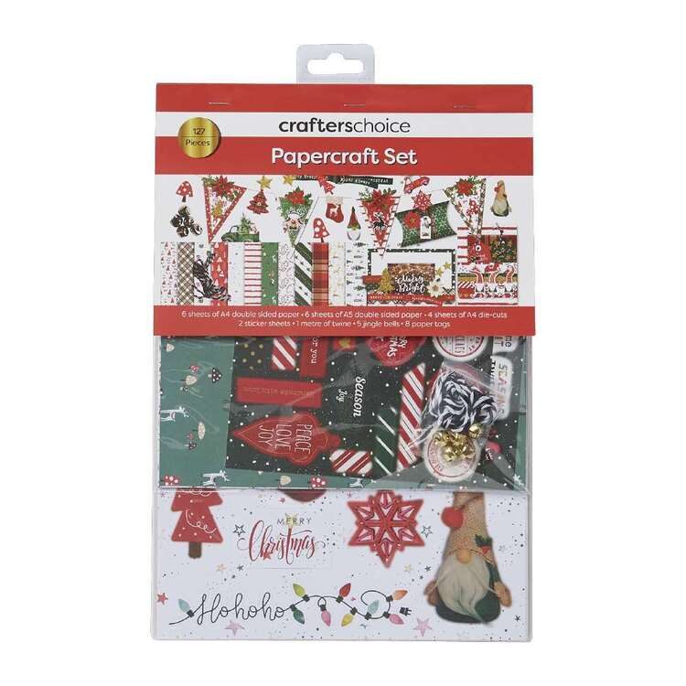 Crafters Choice Cheerful Traditions Papercraft Set