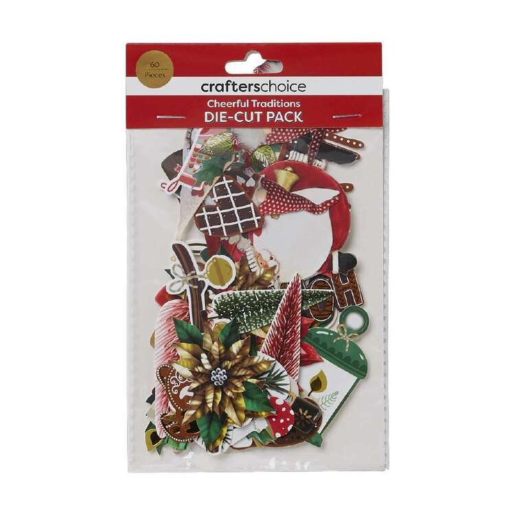 Crafters Choice Cheerful Traditions Die-Cuts Pack