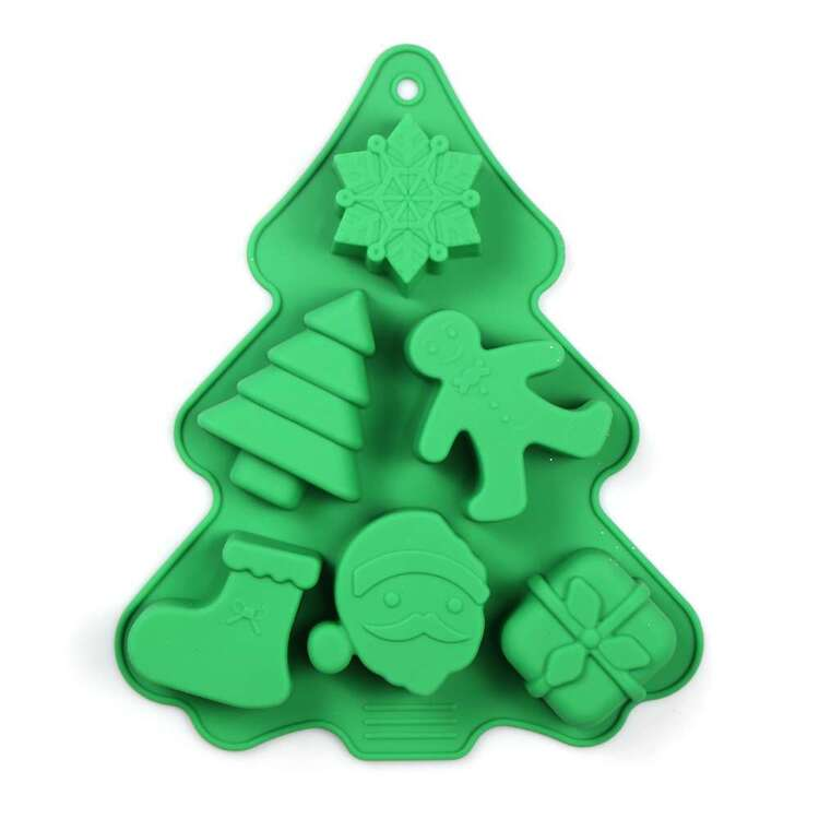 Jolly & Joy Silicone Christmas Tree Cake Mould