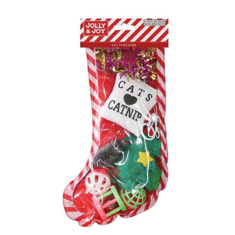 Jolly & Joy Cat Stocking