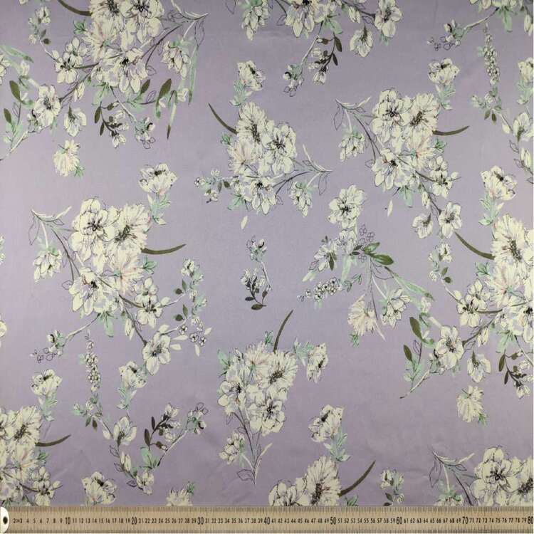Scattered Digital Printed 127 cm Cotton Sateen Fabric