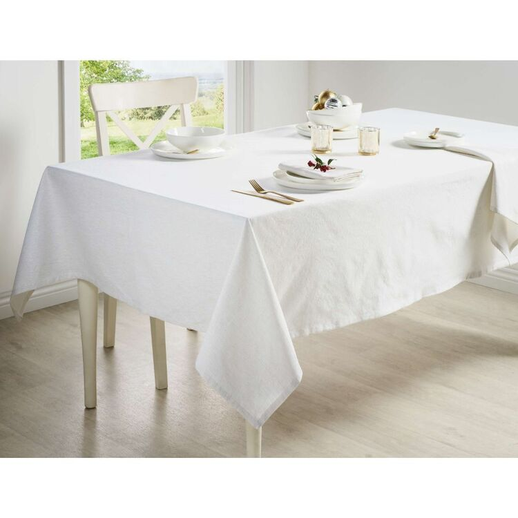 Living Space Festive Noelle Lurex Tablecloth