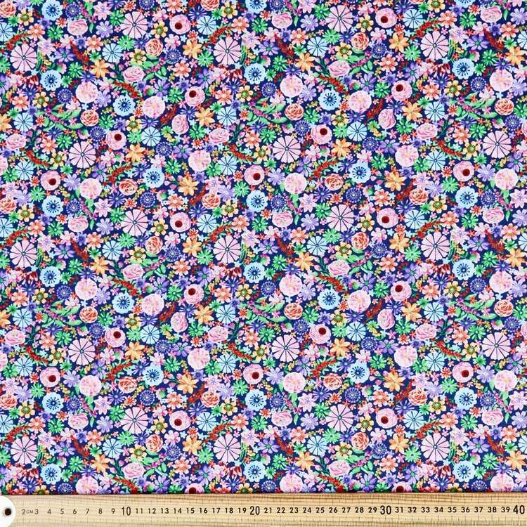 Wonderland Packed Floral Cotton Fabric