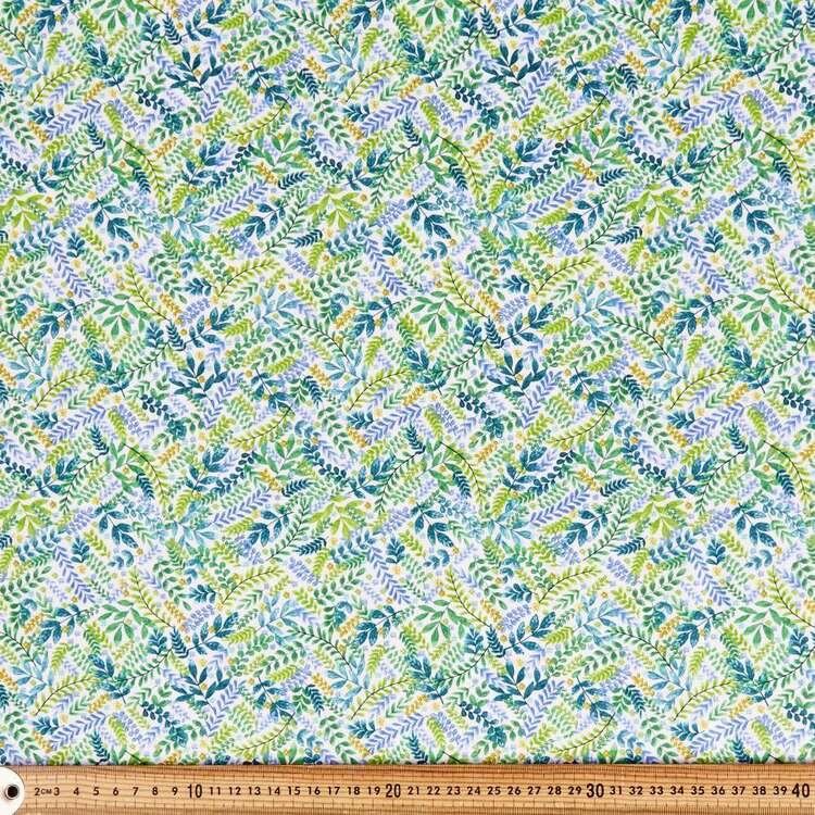 Wonderland Leaves Cotton Fabric