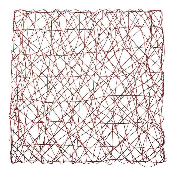 Christmas By Ladelle Squiggle Square Placemat