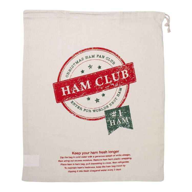 Christmas By Ladelle Ham Club Ham Bag
