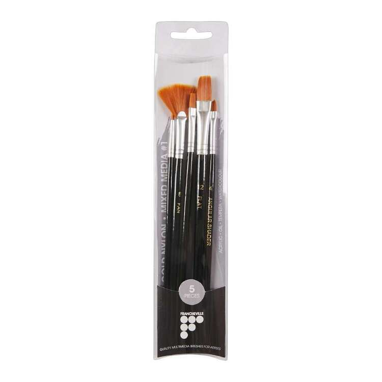 Francheville Regular Handle Var #1 Brush Set 5 Pack