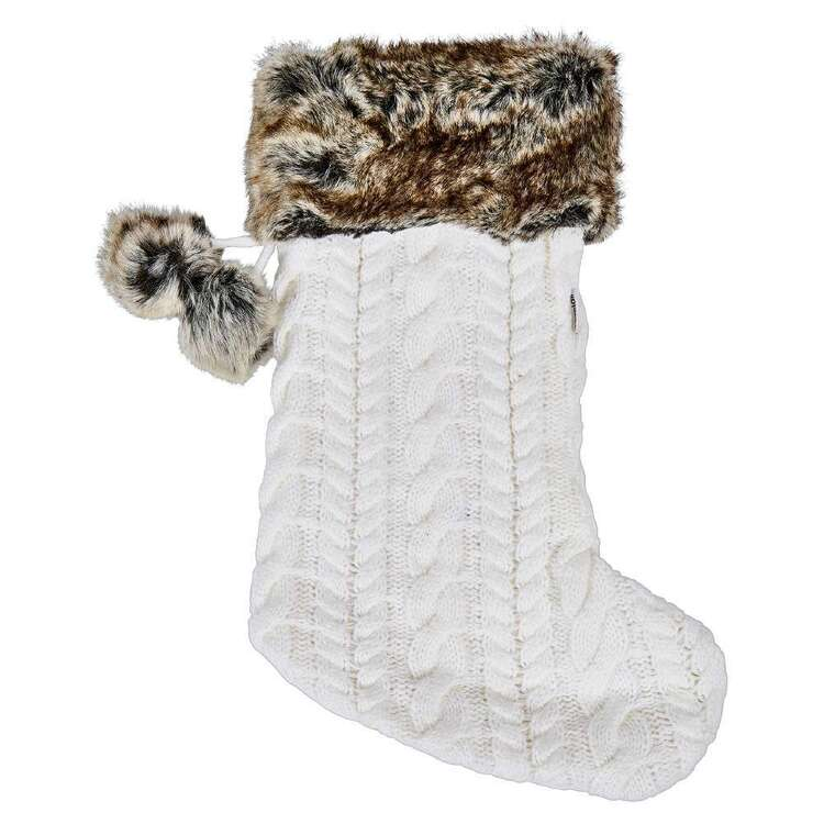 Bouclair Nordic Tradition Knit Stocking