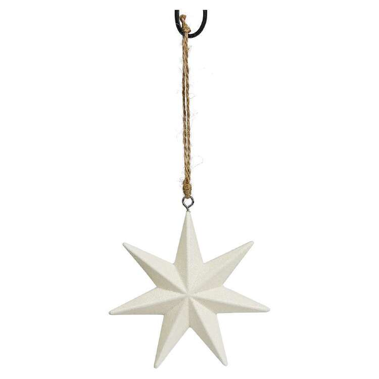 Bouclair Sparkling Moments Star Ornament