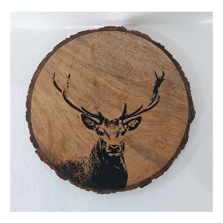 Bouclair Nordic Tradition Deer Serving Plate
