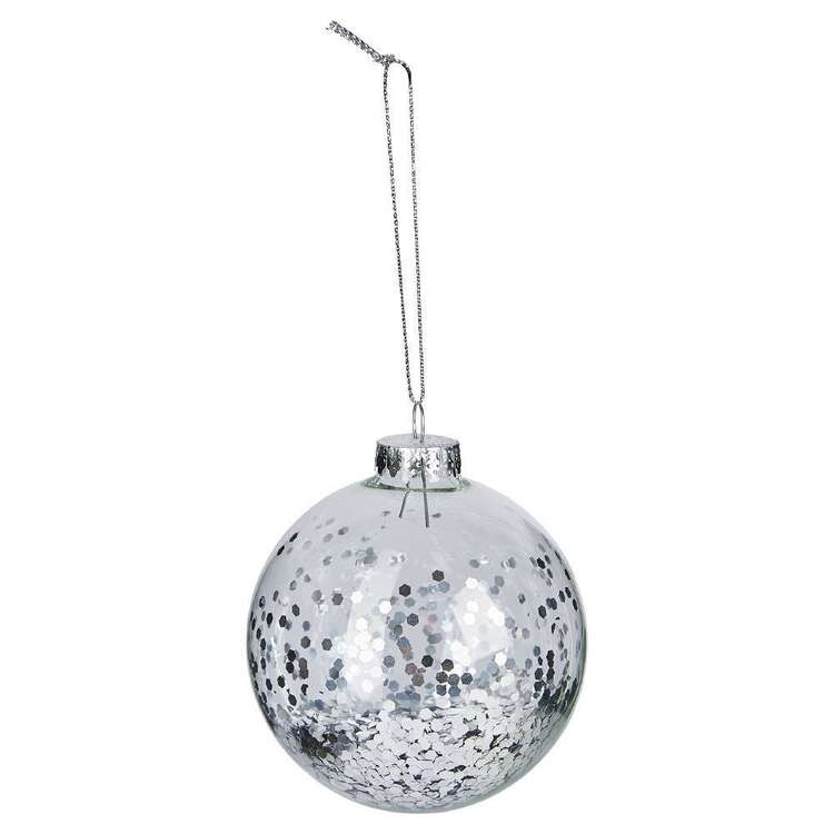 Bouclair Sparkling Moments Glitter Bauble