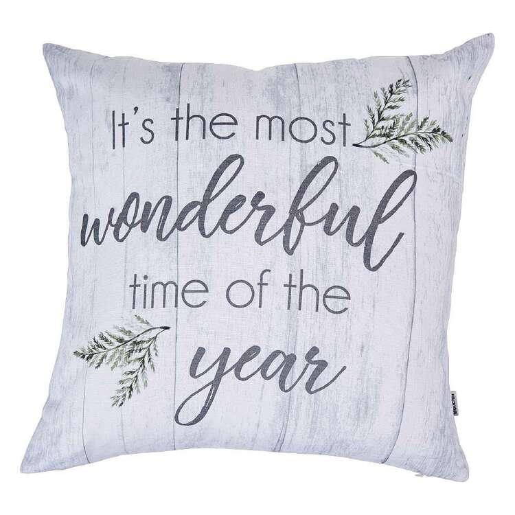 Bouclair Holiday Nostalgia Enide Cushion