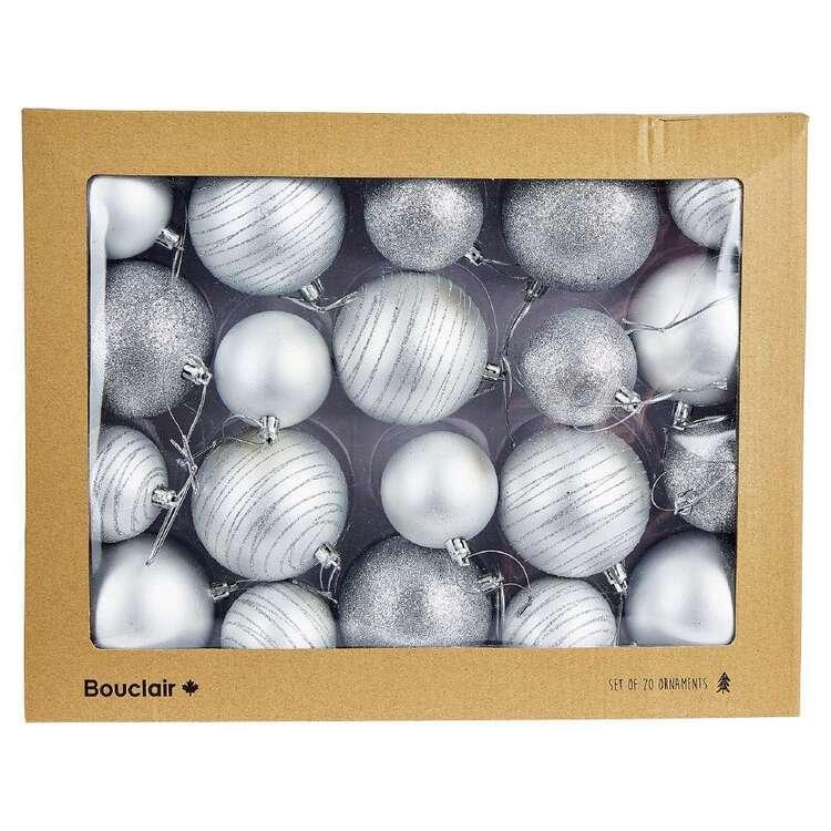 Bouclair Sparkling Moments Set Of 20 Baubles