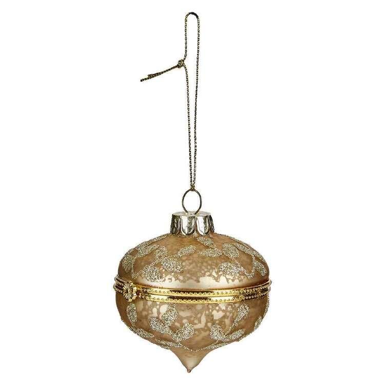 Bouclair Dazzling Velvet Locket Ornament