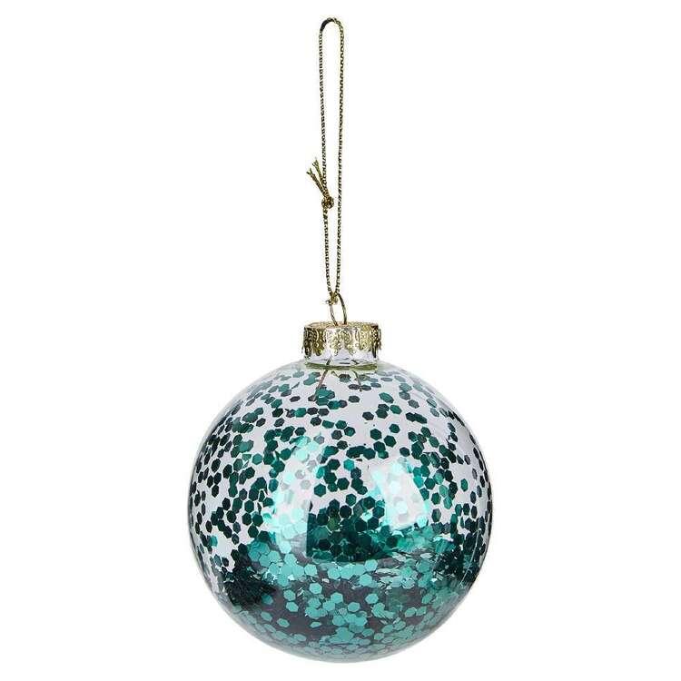 Bouclair Dazzling Velvet Glitter Bauble