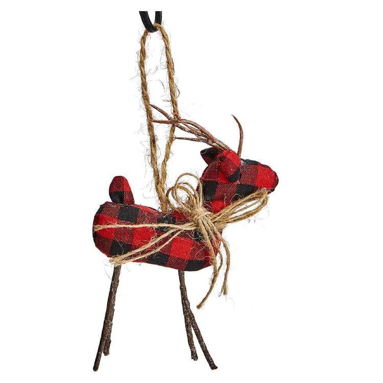 Bouclair Nordic Tradition Deer Ornament