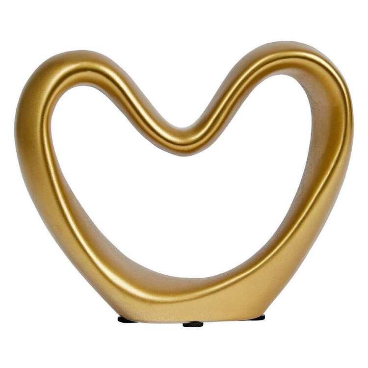 Bouclair Dazzling Velvet Decorative Heart Ornament