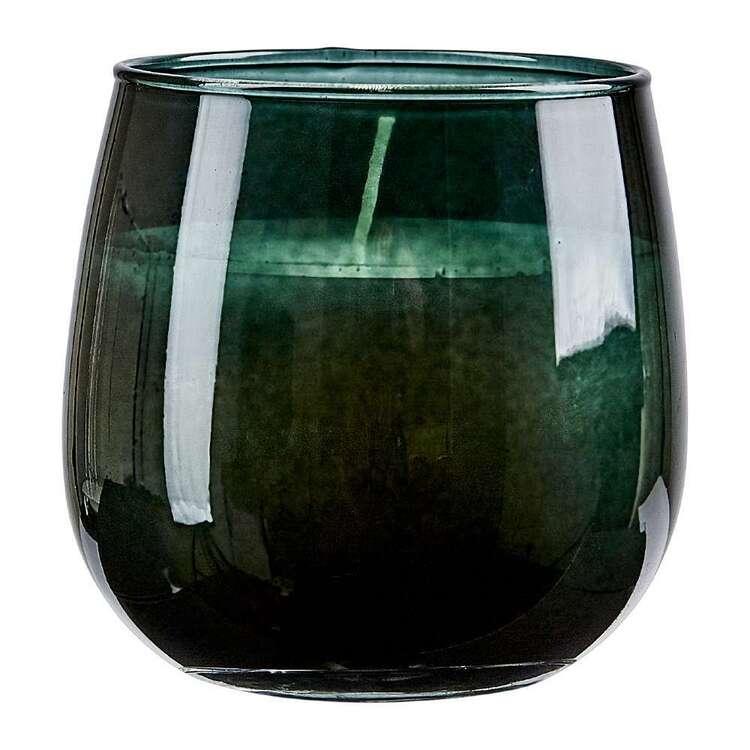 Bouclair Dazzling Velvet Glass Candle