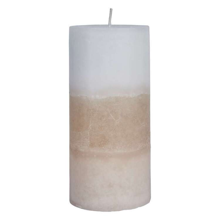 Bouclair Sparkling Moments 2 Tone Candle
