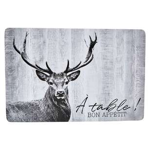 Bouclair Nordic Tradition Deer Placemat
