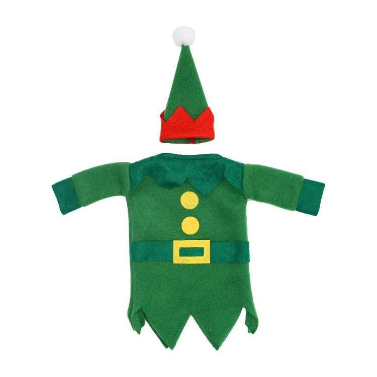 Jolly & Joy Elf Felt Bottle Bag