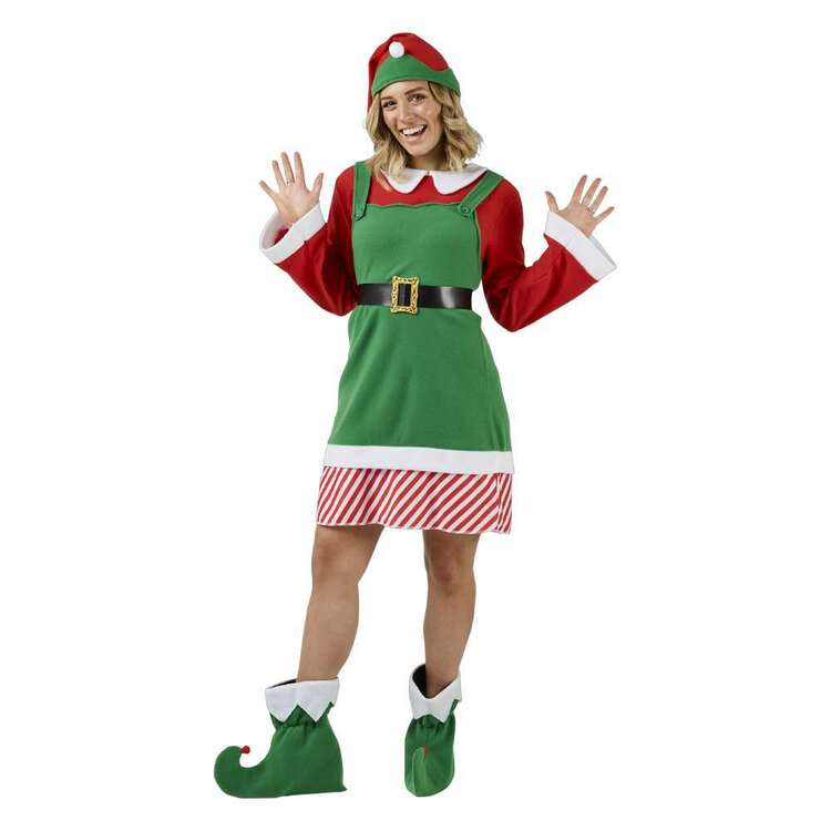 Jolly & Joy Elf Woman Adult Costume