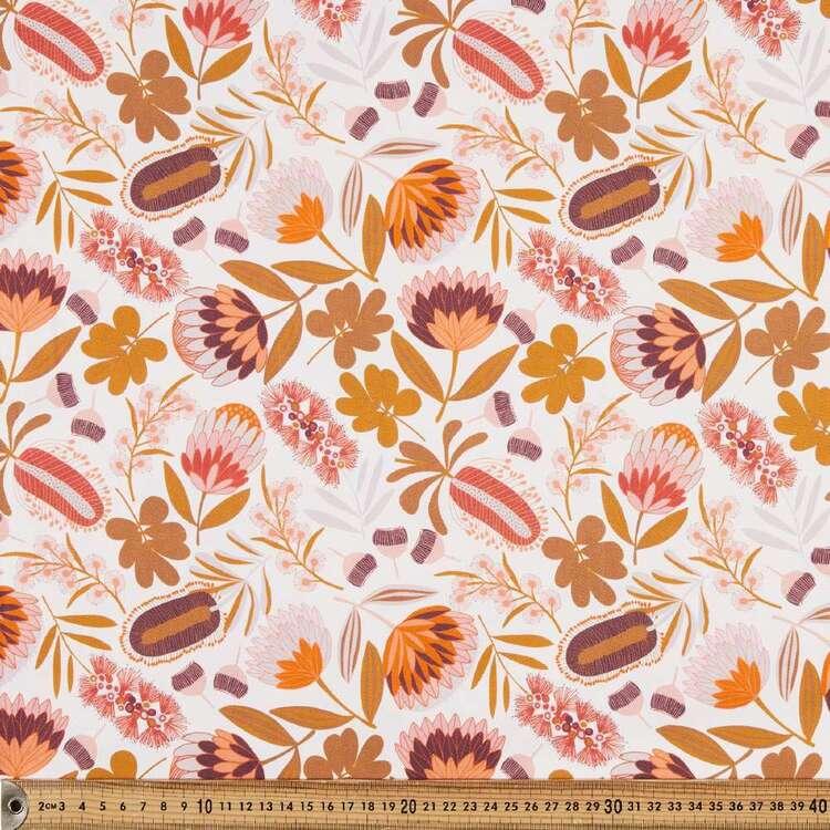 Jocelyn Proust Native Bouquet Printed Montreaux Drill Fabric