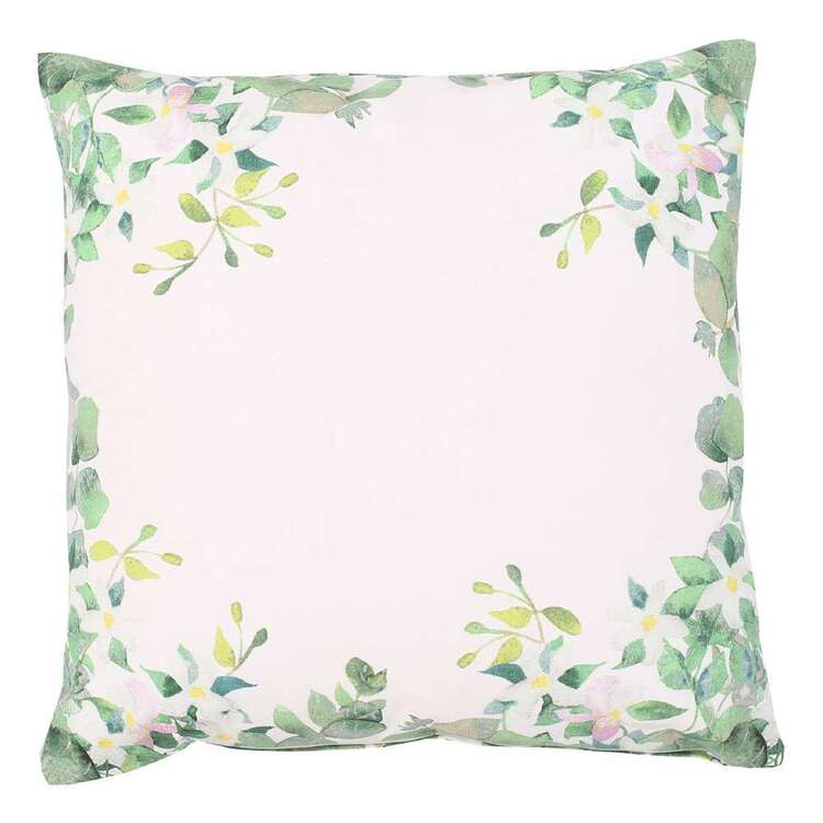 Ombre Home Country Living Follage Cushion Green 45 x 45 cm