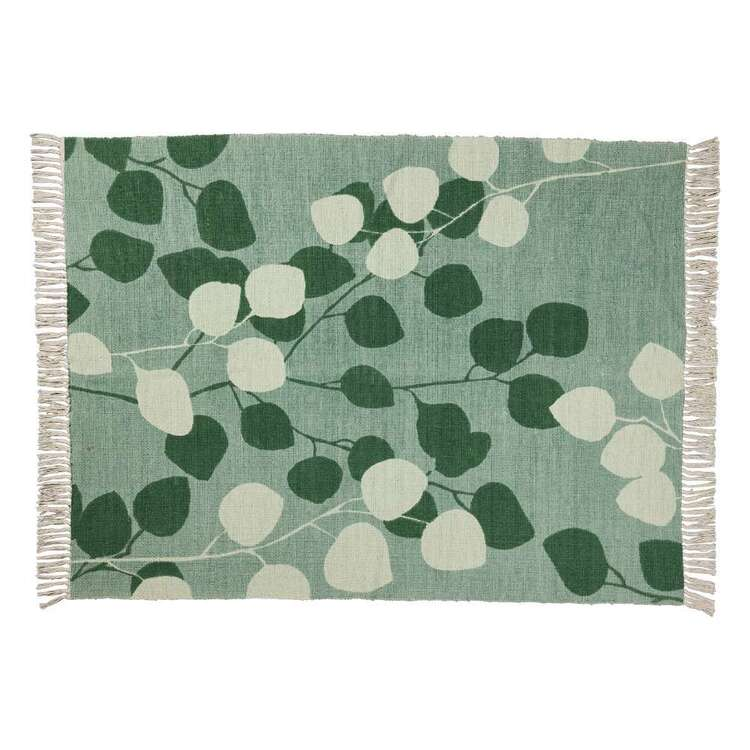 Ombre Home Country Living Leaf Rug