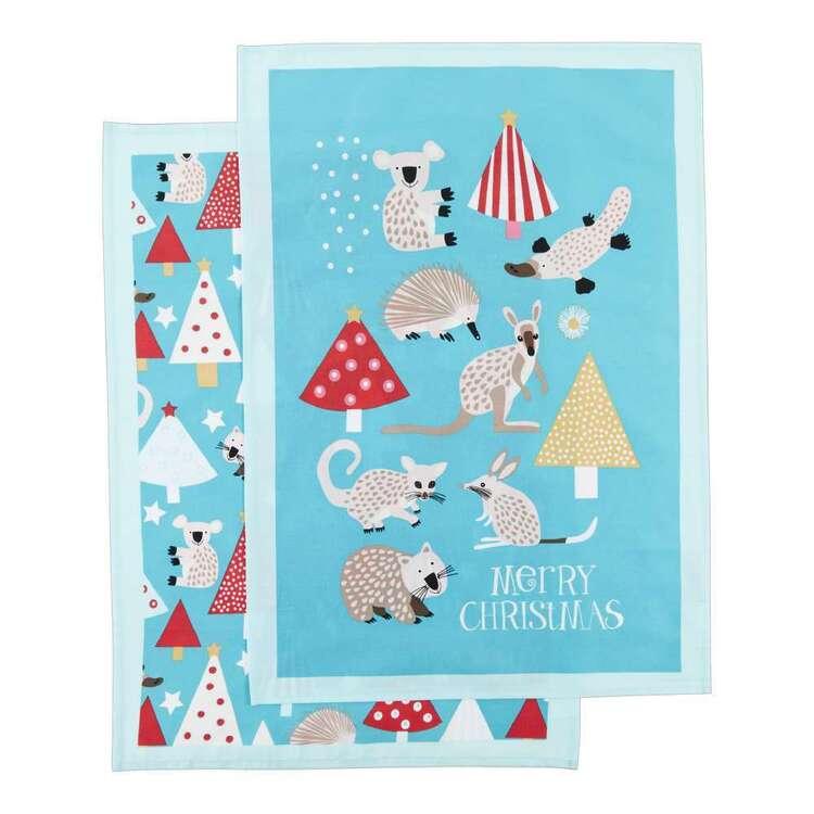 Koo Jocelyn Proust Animalia Printed Tea Towel 2 Pack