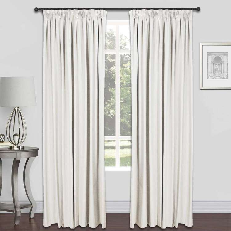 KOO Taro Blockout Pencil Pleat Curtains