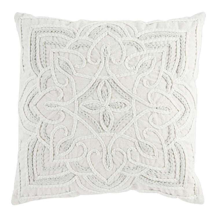 Logan And Mason Home Anika Embroidered Cushion