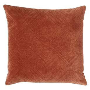 Logan And Mason Home Halton Quilted Velvet Cushion