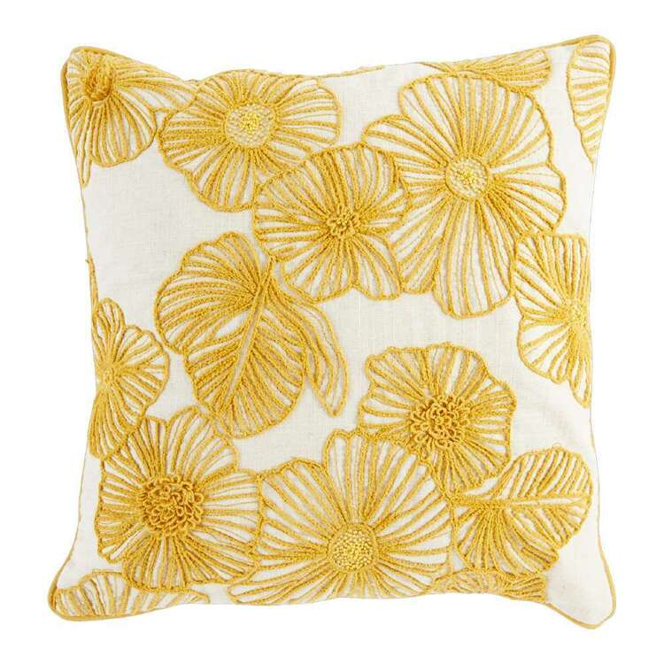 Logan And Mason Home Willow Embroidered Cushion