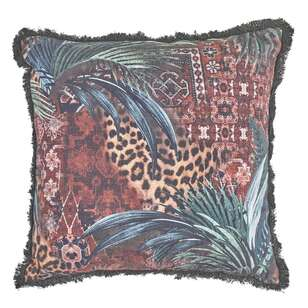 Logan And Mason Home Ogle Printed Textured Cushion
