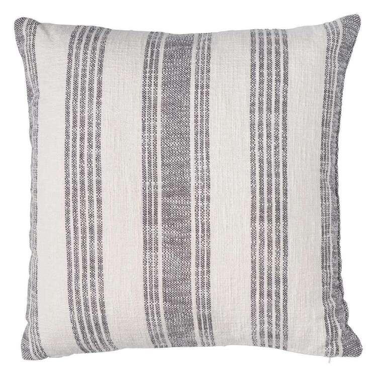 Logan And Mason Home Farlam Yarn Dye Cotton Slub Cushion
