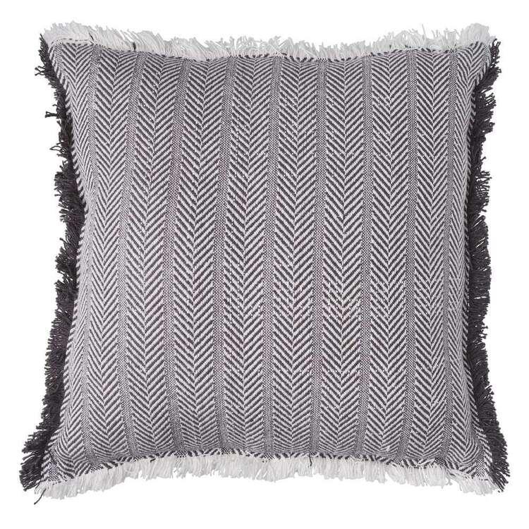 Logan And Mason Home Ryton Woven Herringbone Cushion<br>