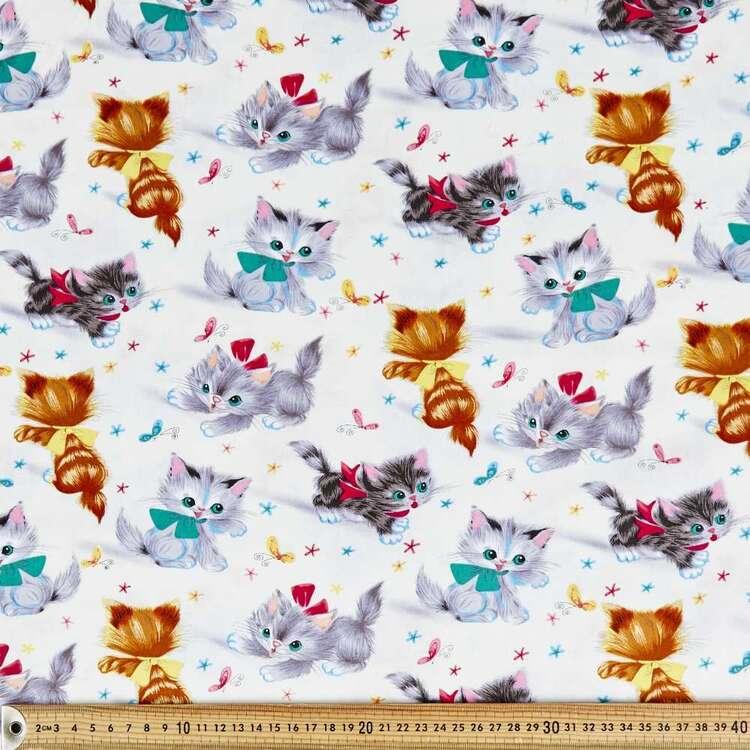 Kitties Cotton Fabric
