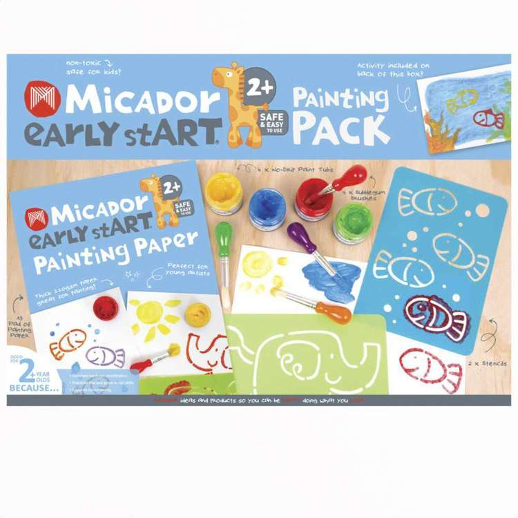 Micador Early Starter Painting Pack
