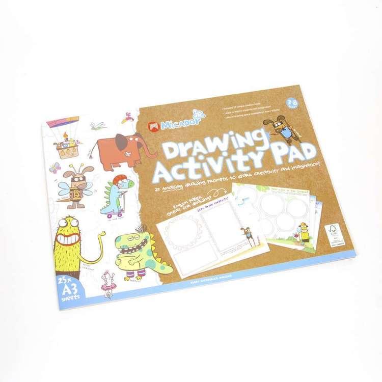 Micador Junior Drawing Activity Pad A3 FSC Mix