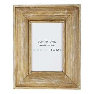 Ombre Home Country Living Wood Frame